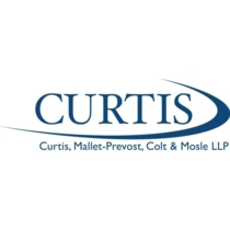 the Curtis, Mallet-Prevost, Colt & Mosle logo.