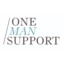 the One Man Support logo.