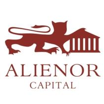 the Alienor Capital logo.