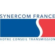the SYNERCOM FRANCE logo.
