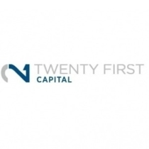 the TWENTY FIRST CAPITAL logo.