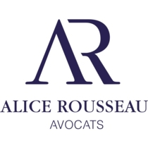 the Alice Rousseau Avocats logo.