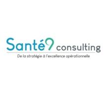 the Santé 9 Consulting logo.