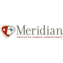 the Meridian Executive Search logo.