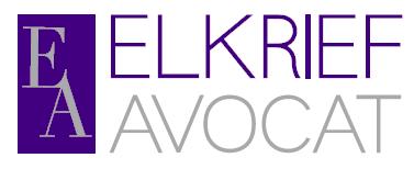 the Elkrief Avocat logo.