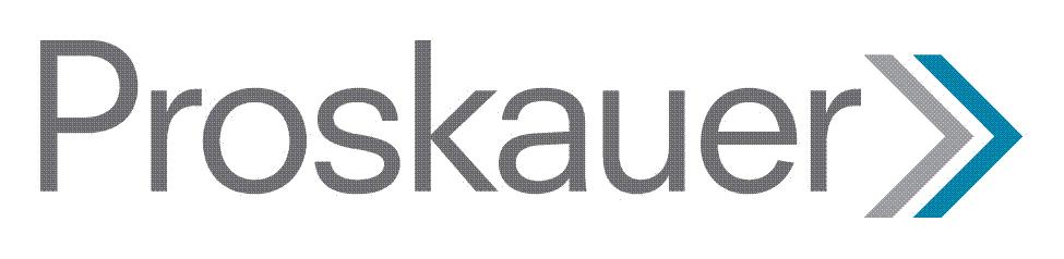 the PROSKAUER logo.