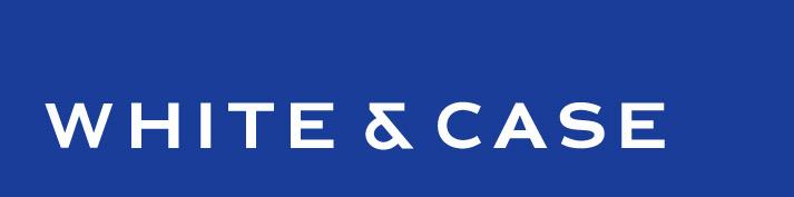 the White & Case logo.