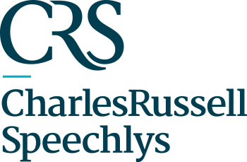 the Charles Russell Speechlys logo.