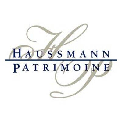 the HAUSSMANN PATRIMOINE logo.