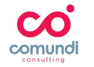 the Comundi logo.
