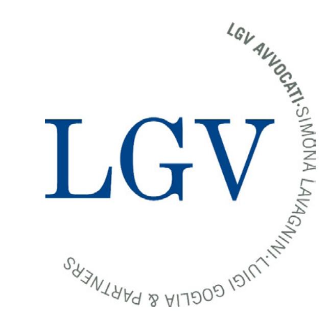the Lgv Avvocati logo.