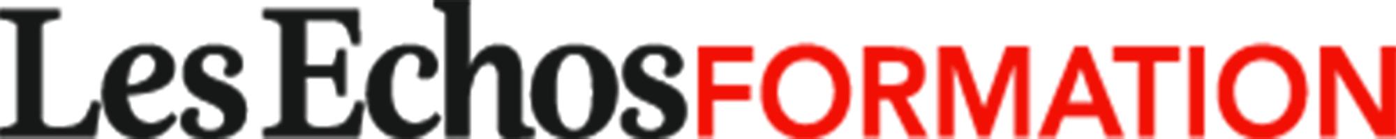 the Les Echos Formation logo.
