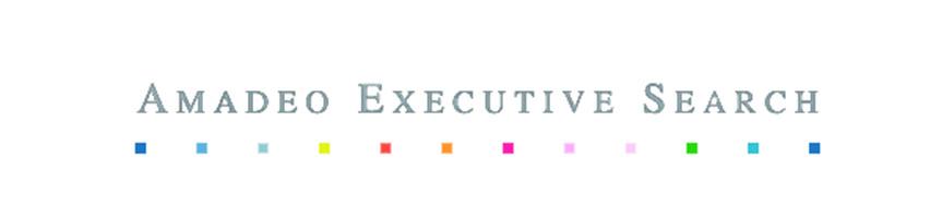 the Amadeo Executive Search logo.