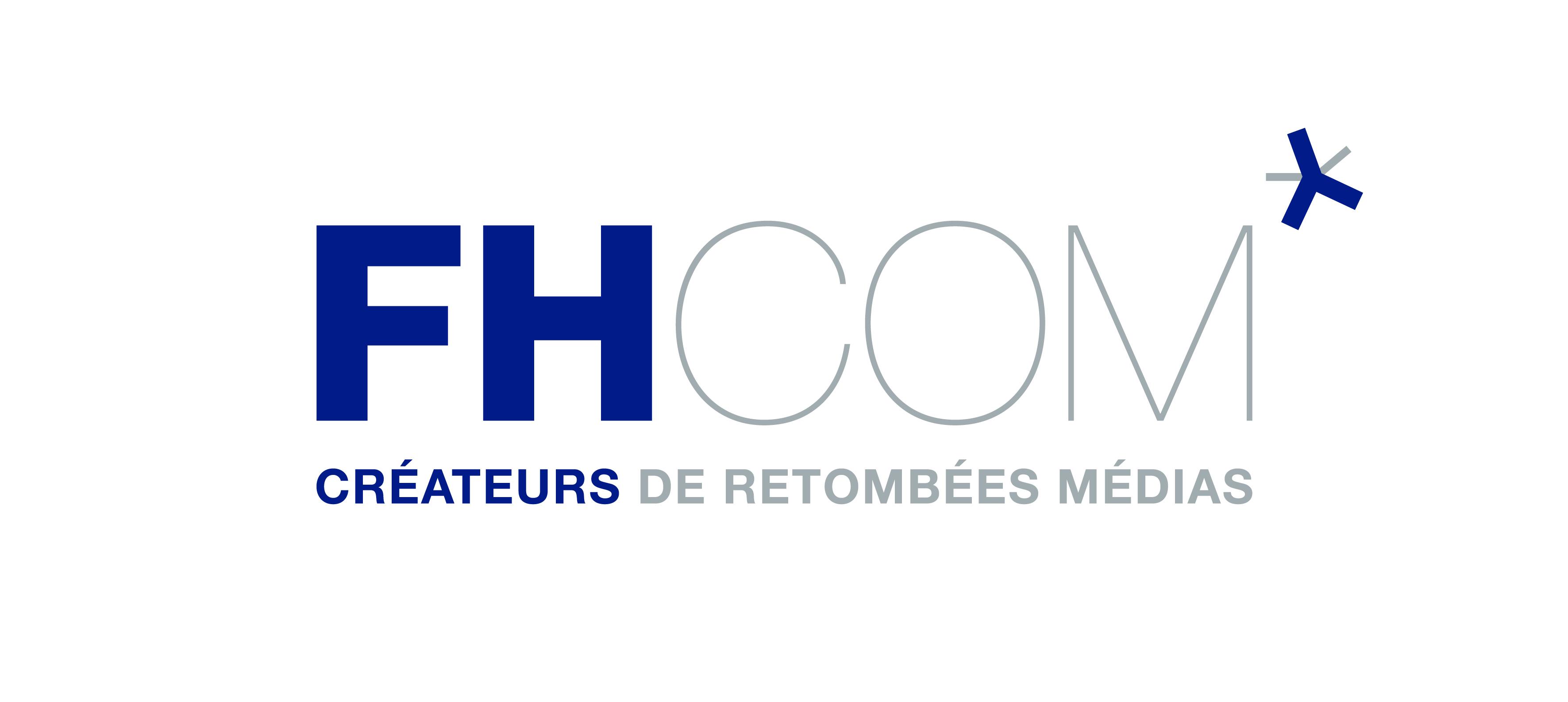 the FHCOM logo.