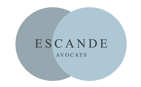 the M.-P. - Escande Avocats logo.