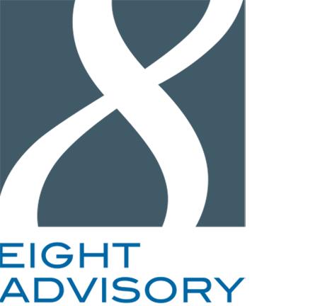 the Eight Advisory logo.