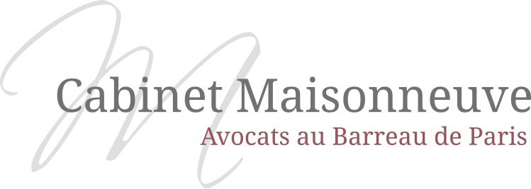 the Cabinet Maisonneuve logo.