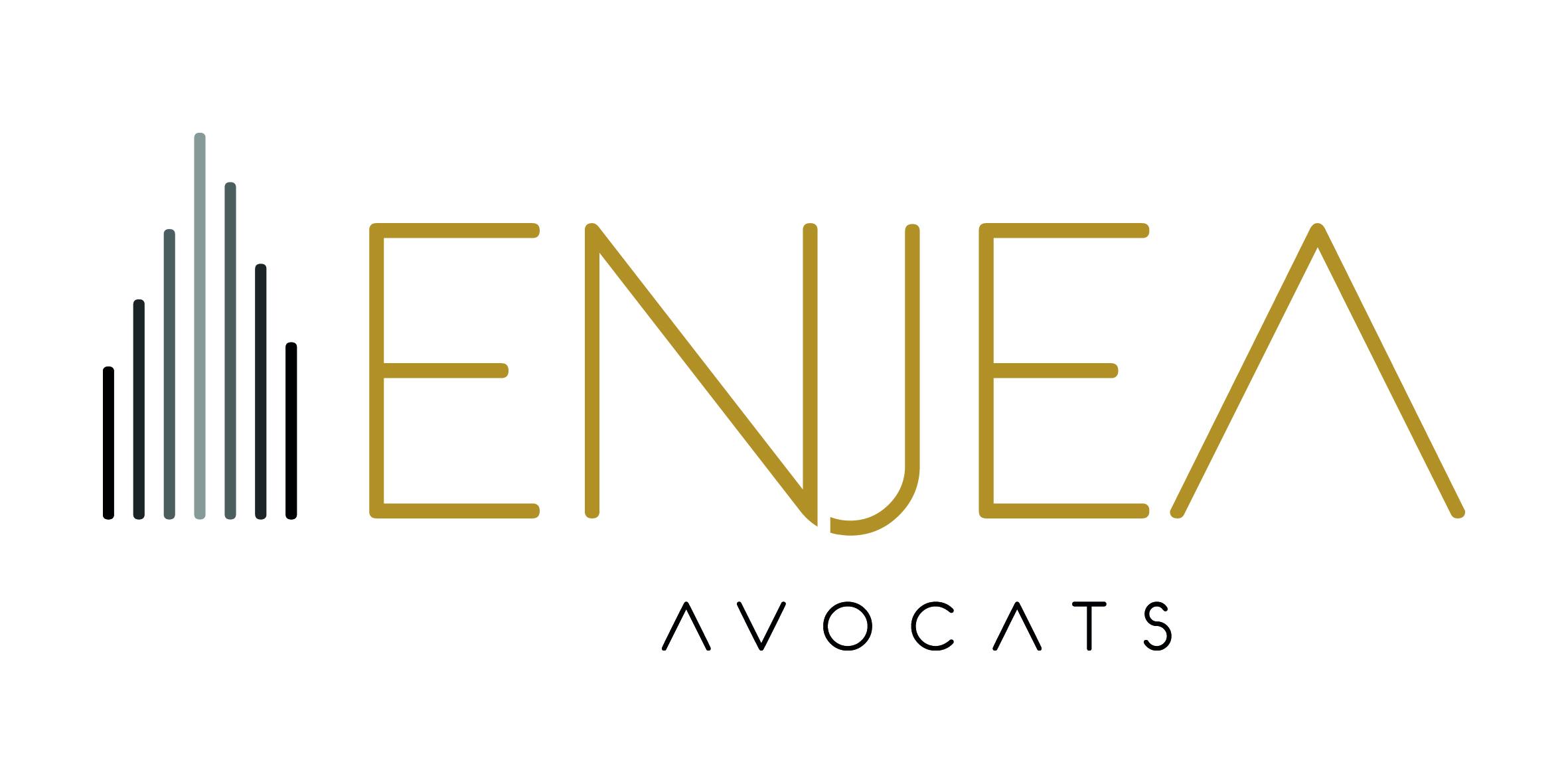 the Enjea Avocats logo.