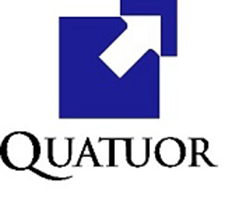 the Quatuor logo.