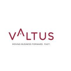 the Valtus logo.
