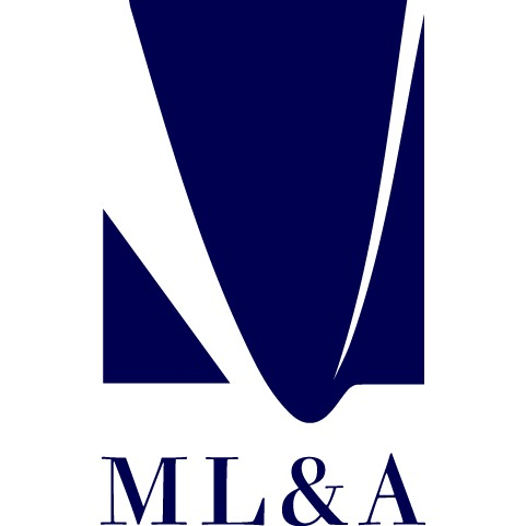 the ML&A logo.