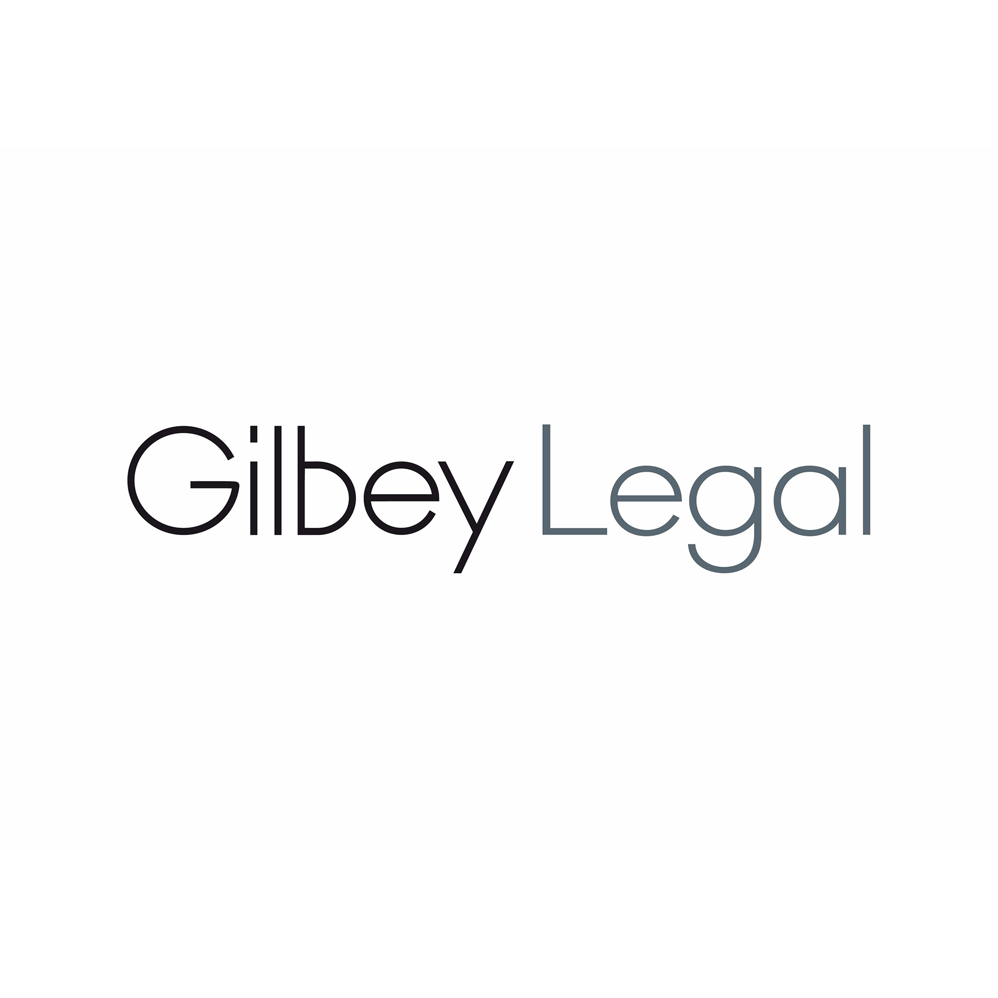 the Gilbey Legal logo.