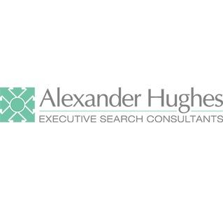 the Alexander Hughes logo.