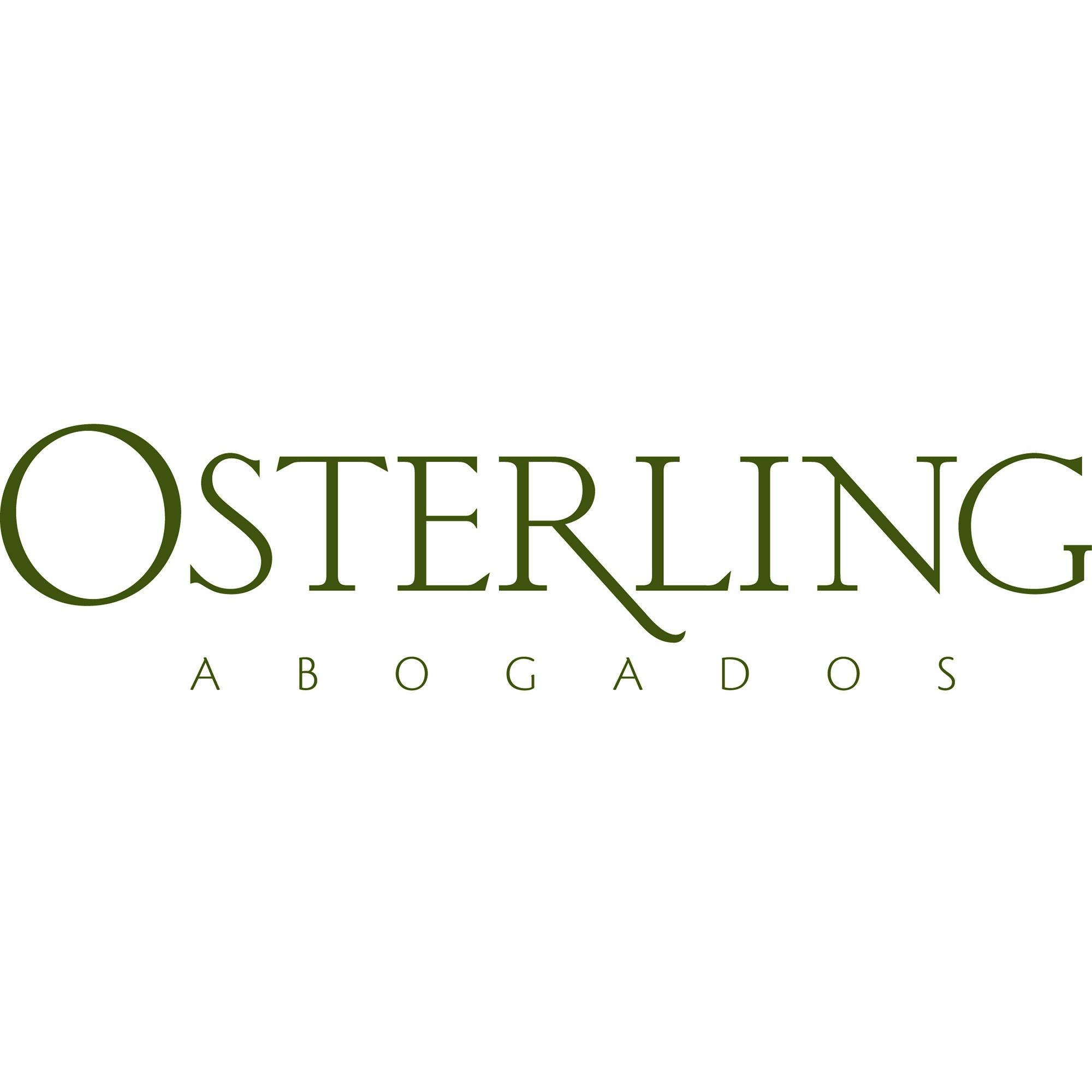 the Osterling Abogados logo.