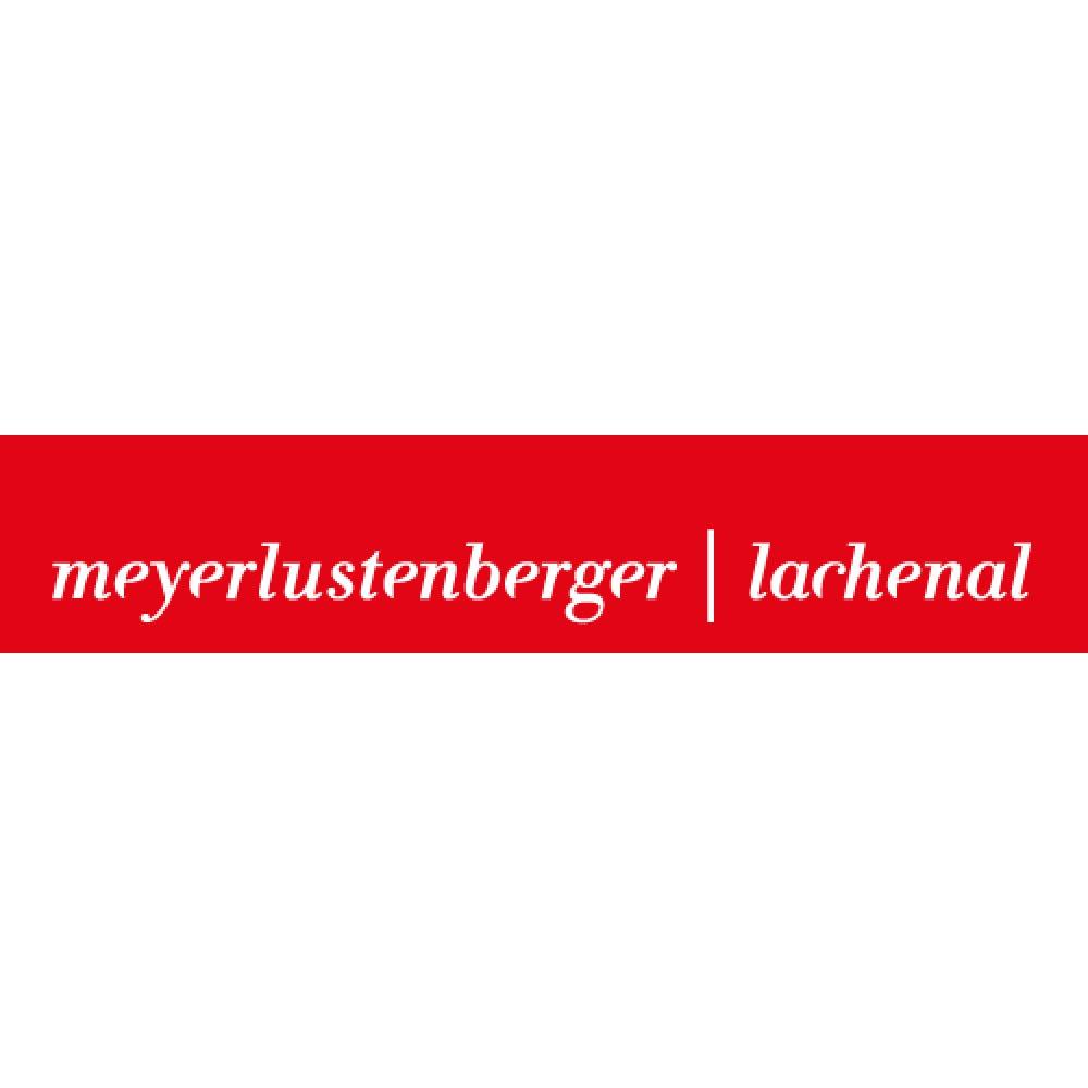 the Meyerlustenberger Lachenal logo.
