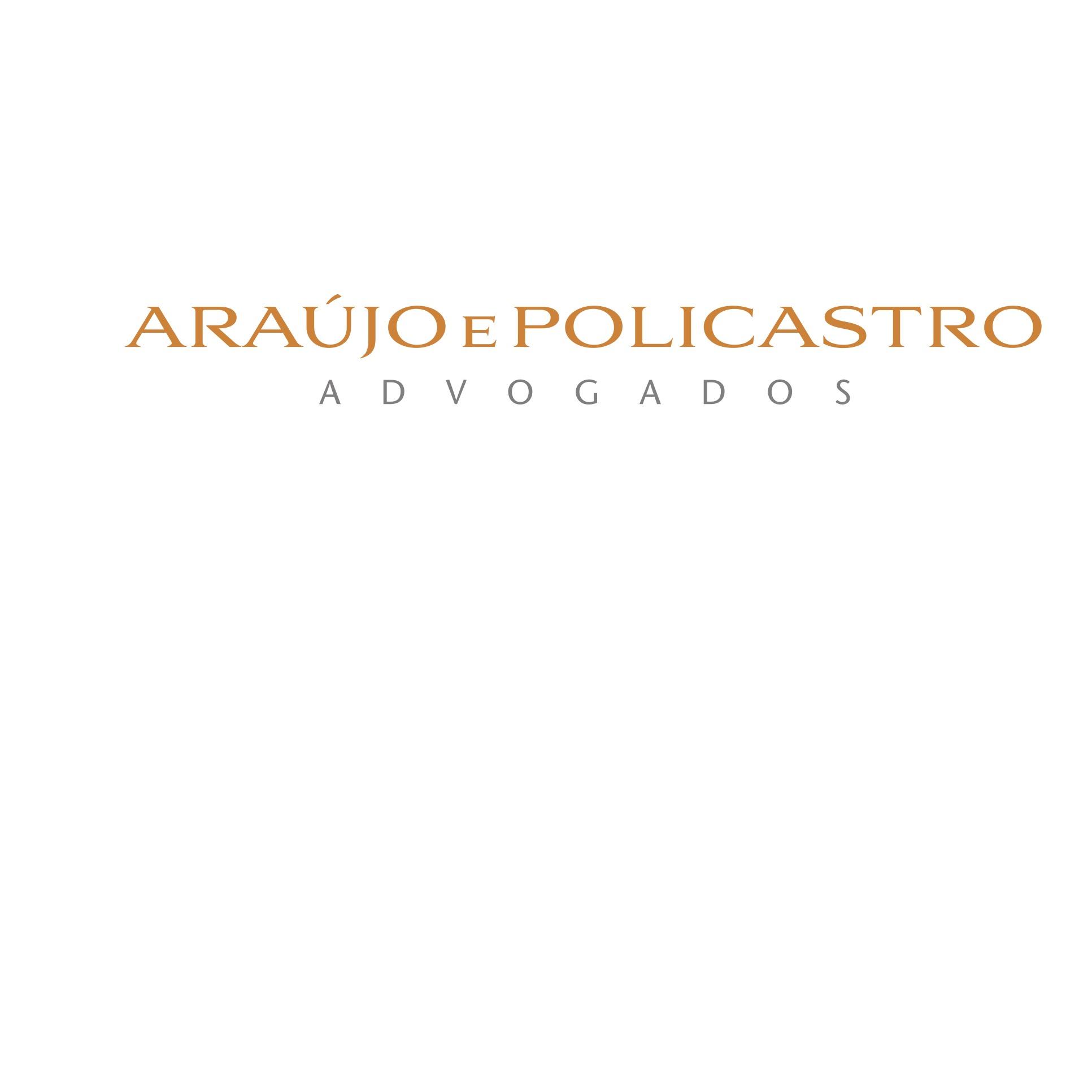 the Araújo e Policastro Advogados logo.