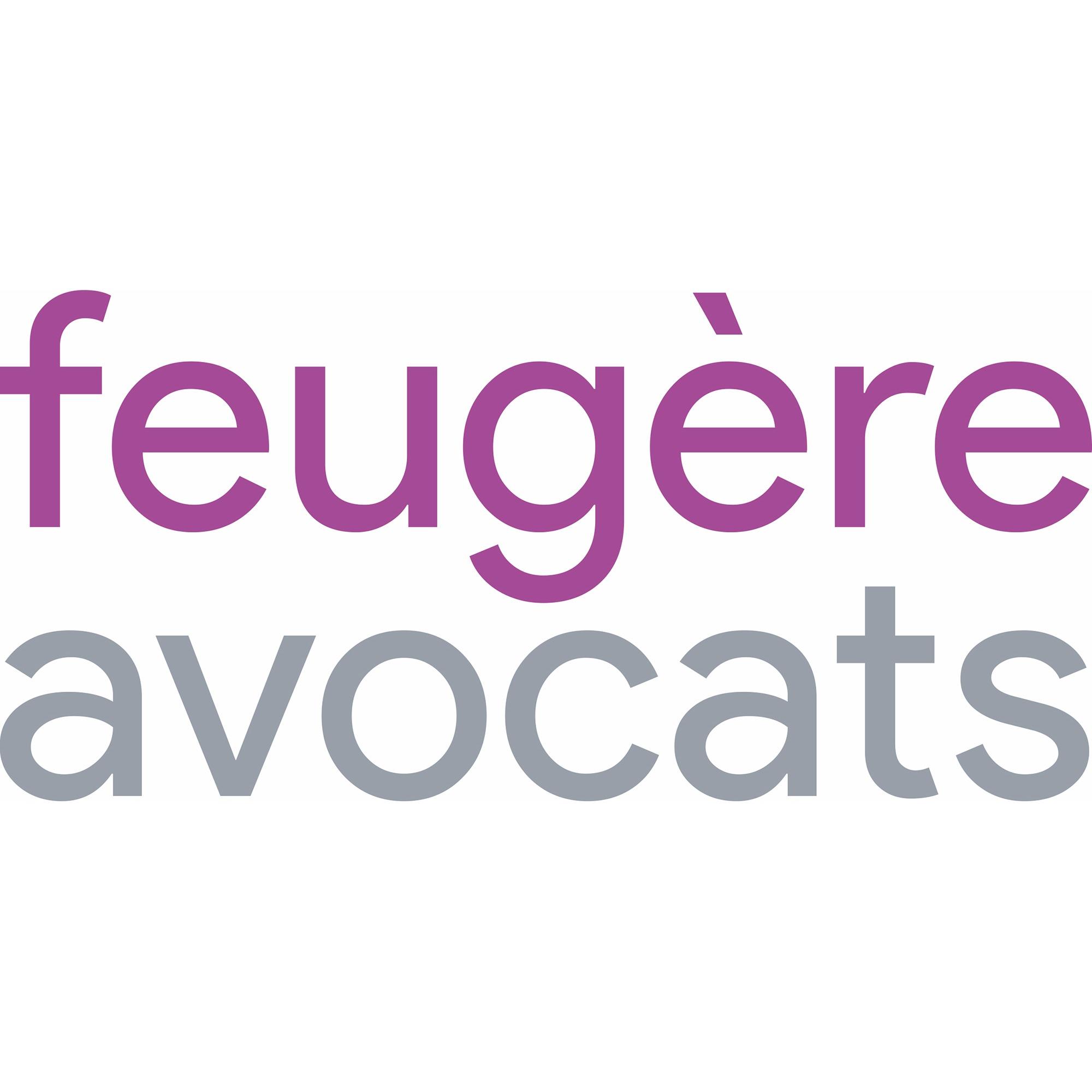 the Feugère Avocats logo.