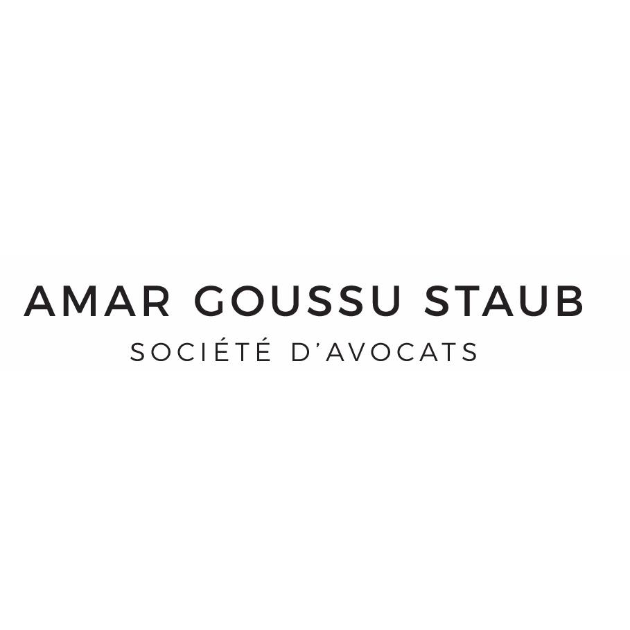 the Amar Goussu Staub logo.