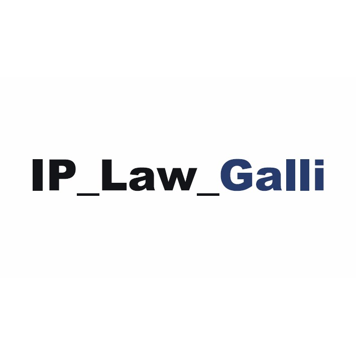 the Ip Law Galli logo.