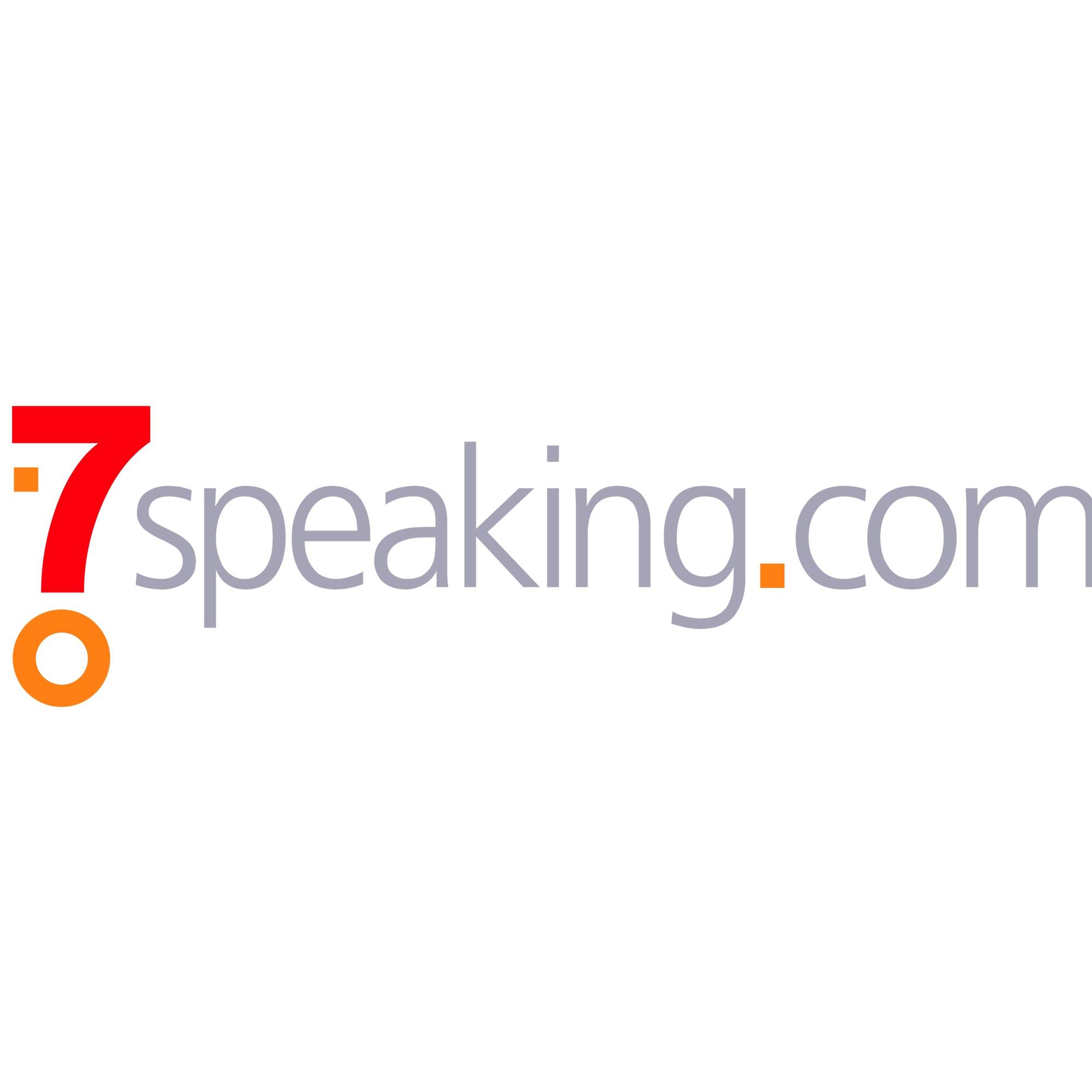the 7Speaking logo.