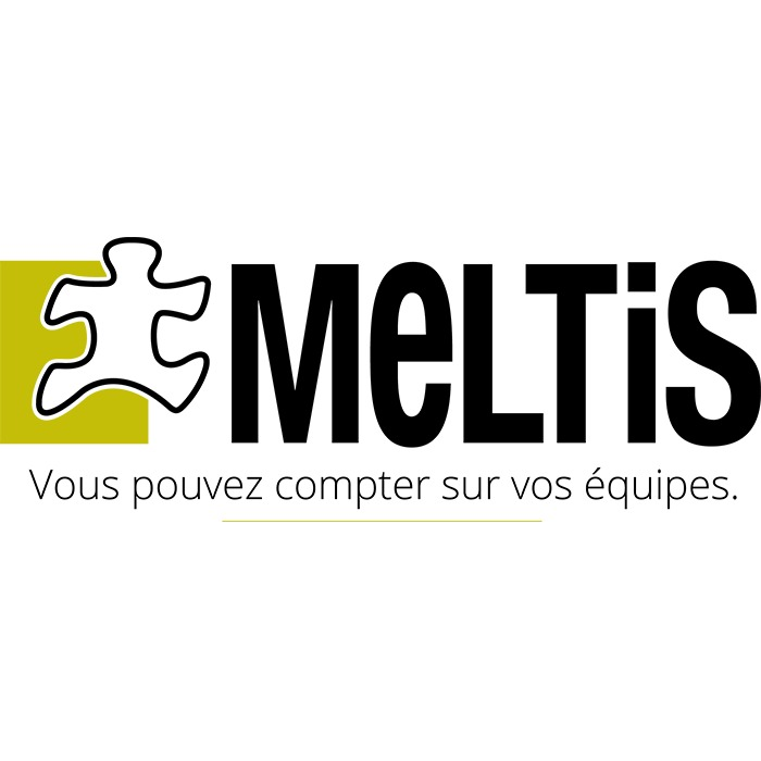 the Meltis logo.