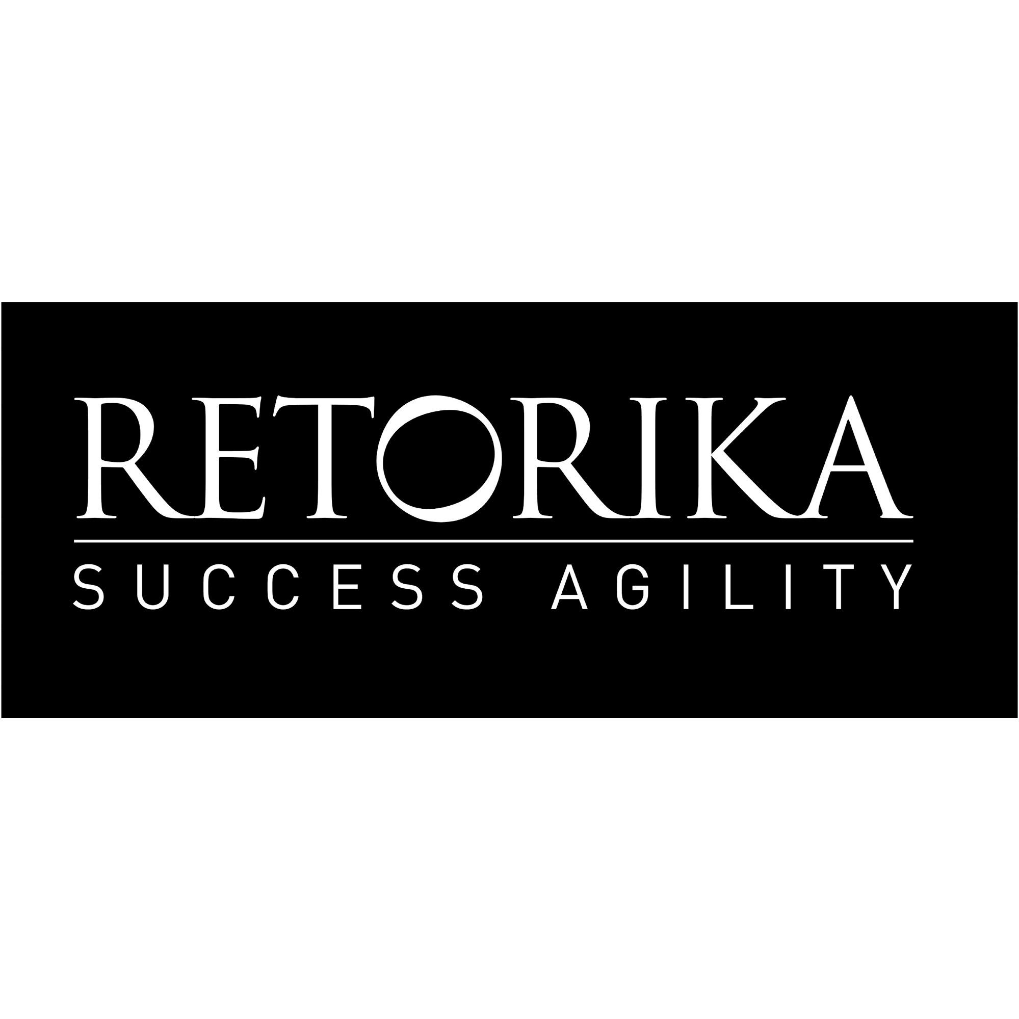 the Retorika logo.