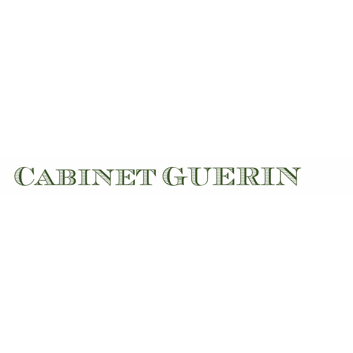 the Cabinet Guerin logo.