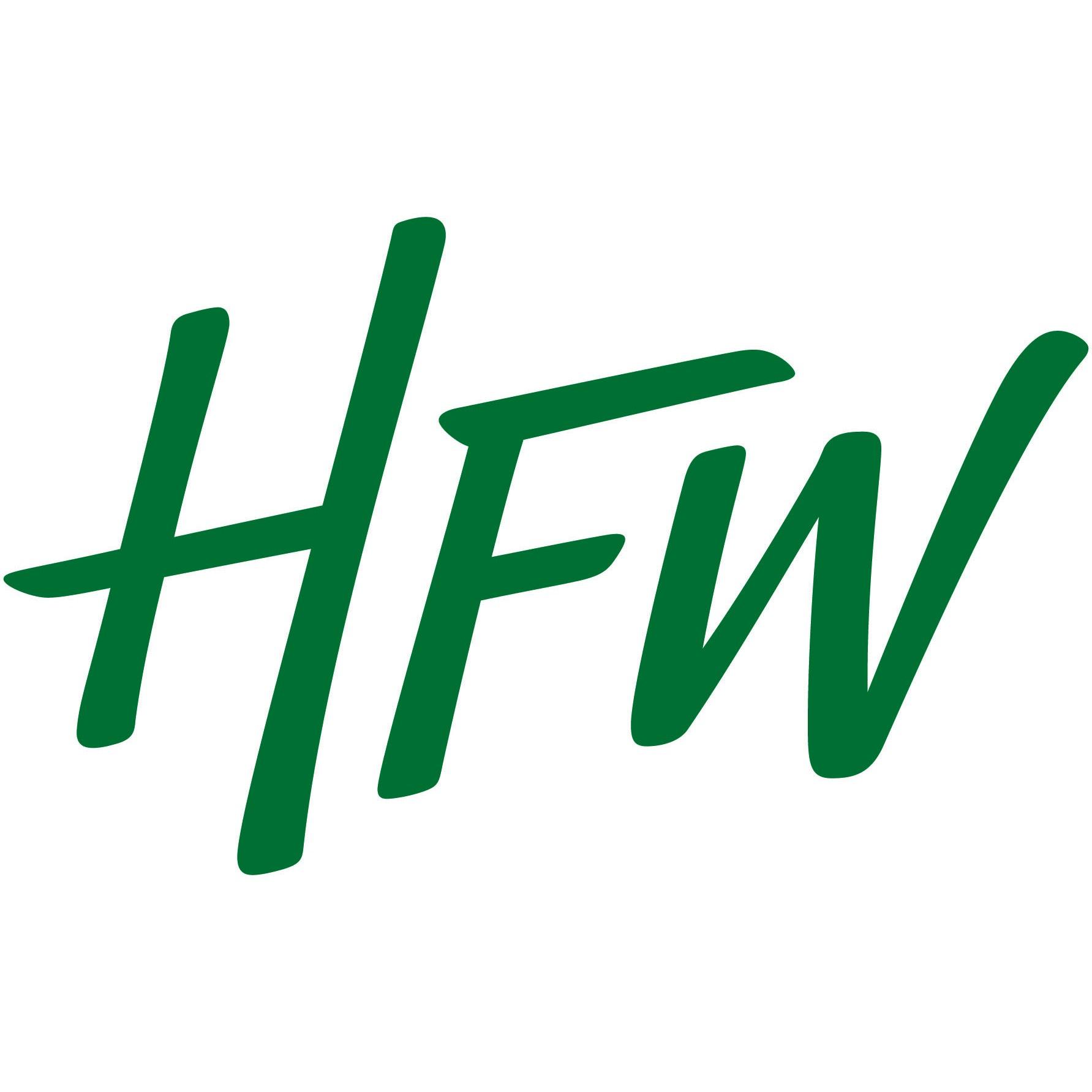 the HFW logo.