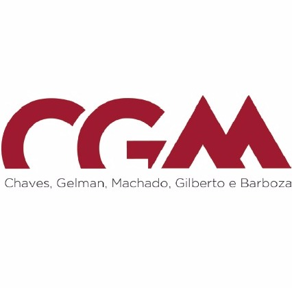 the CGM Advogados logo.