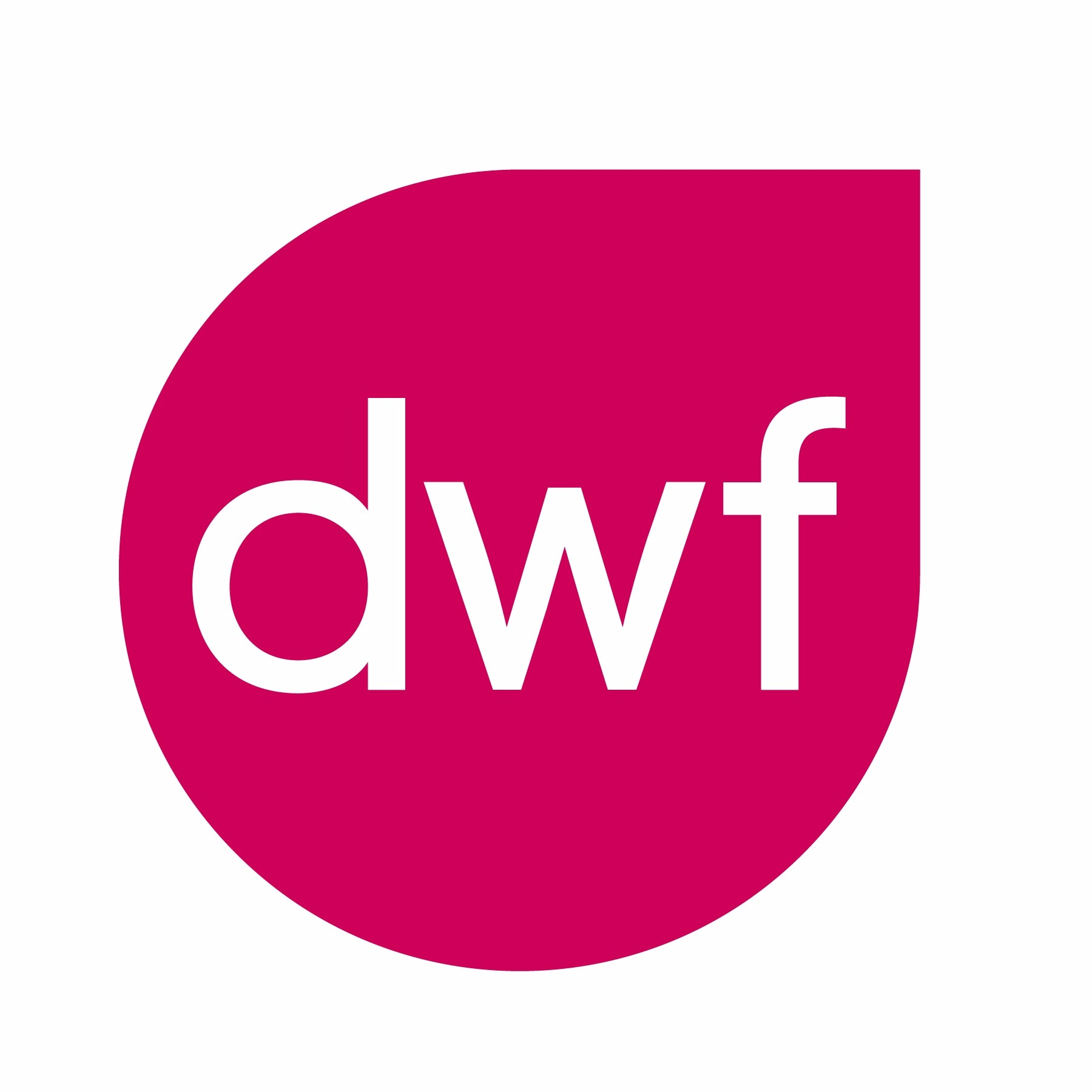 the DWF logo.