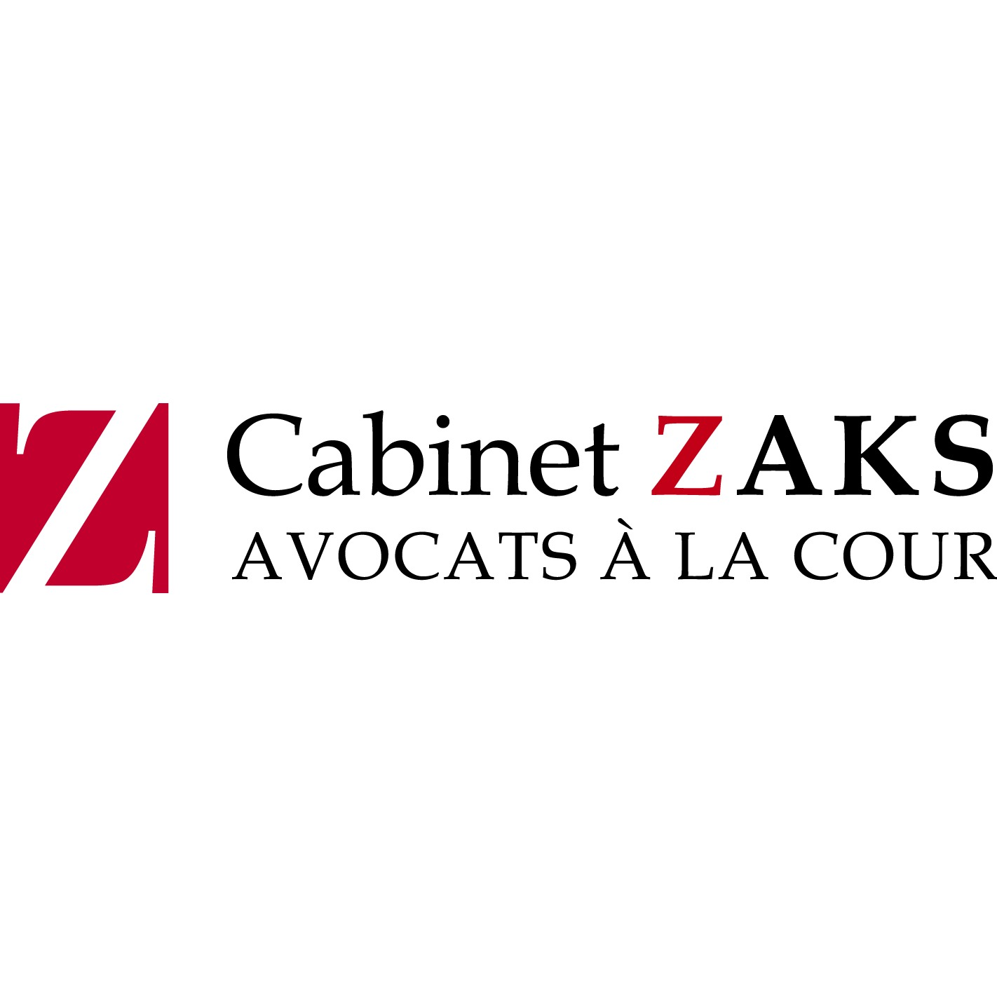 the Cabinet Zaks logo.