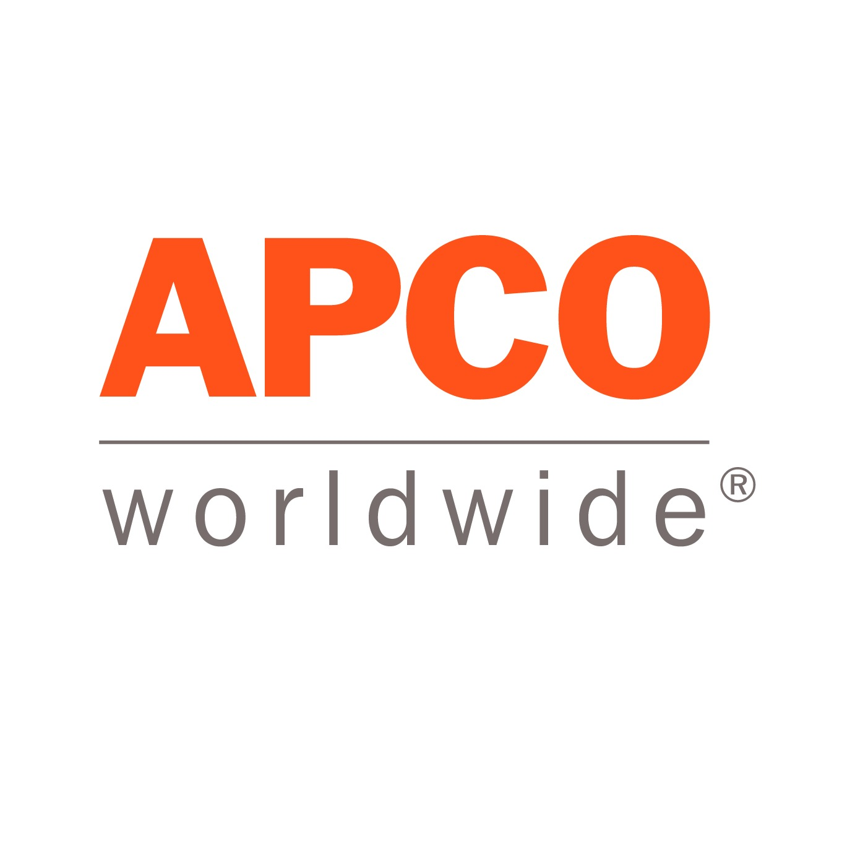 the Apco Worldwide logo.