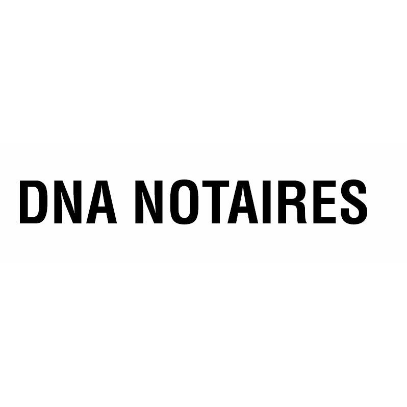 the DNA NOTAIRES logo.