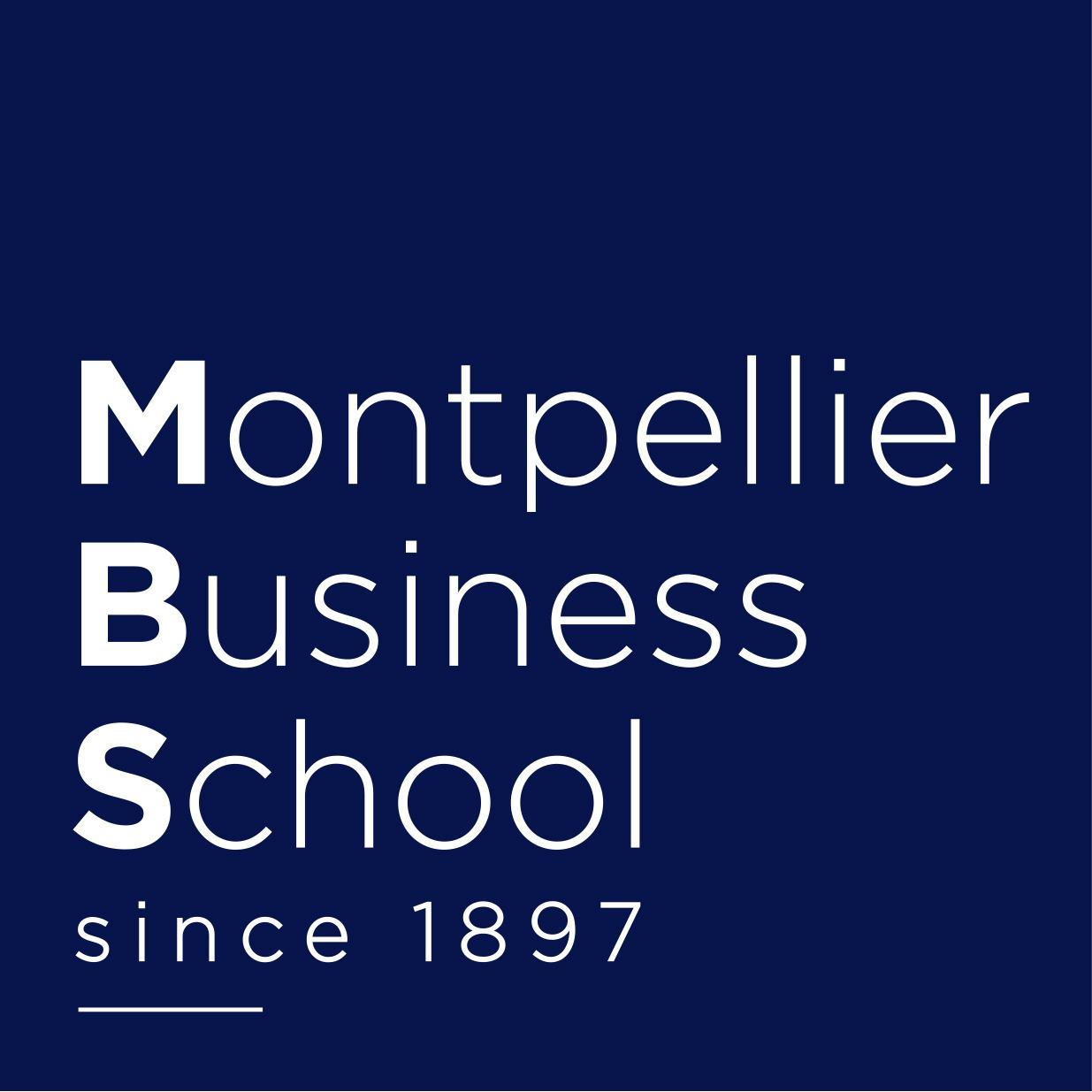 the MONTPELLIER BUSINESS SCHOOL logo.