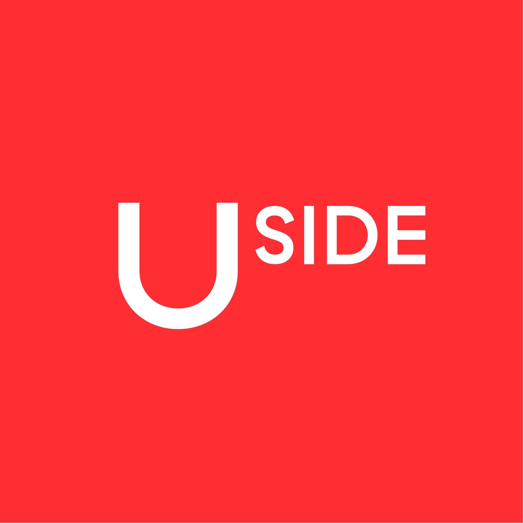 the Uside logo.