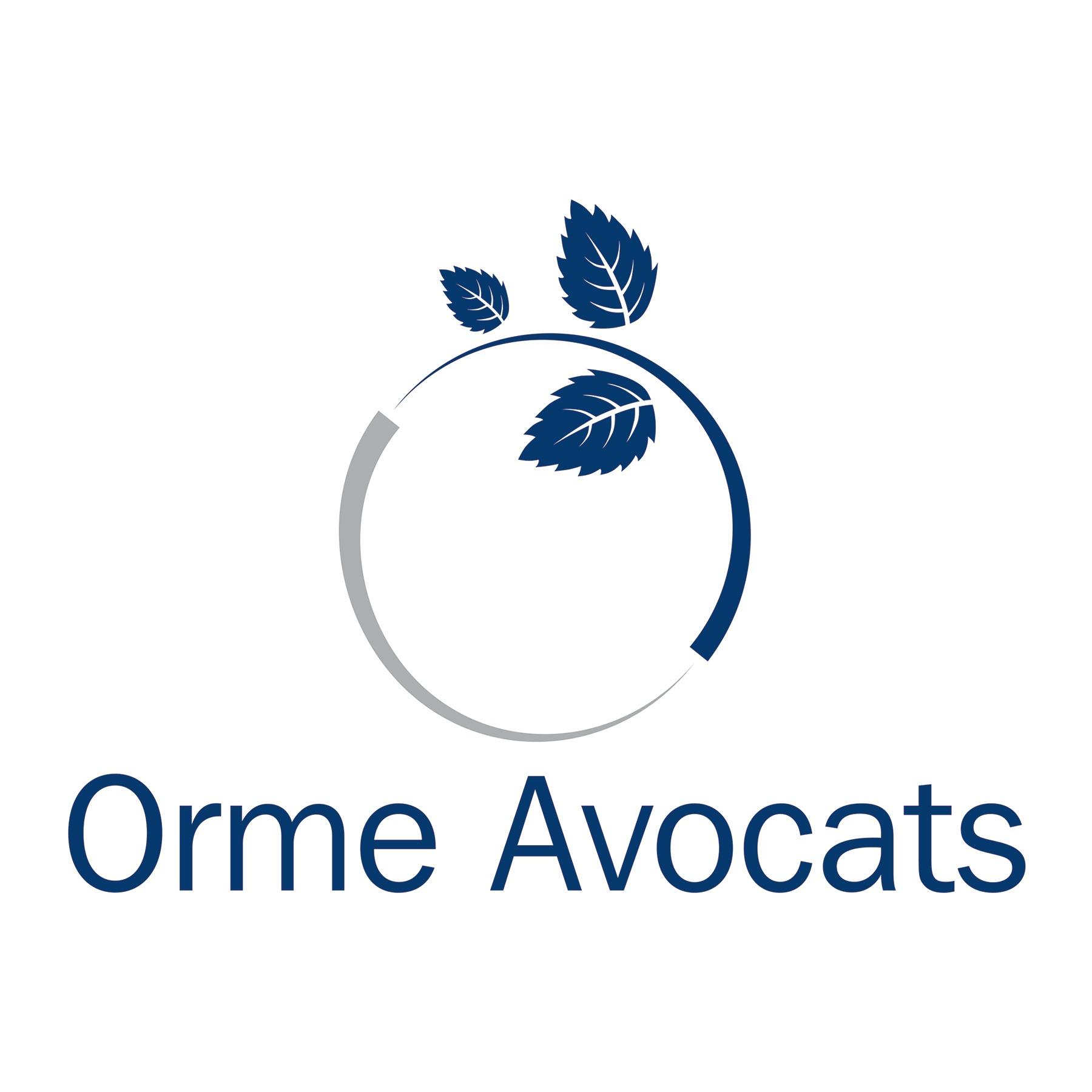 the Orme Avocats logo.