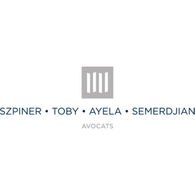 the Szpiner Toby Ayela Semerdjian logo.