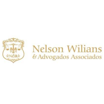 the Nelson Wilians & Advogados Associados logo.