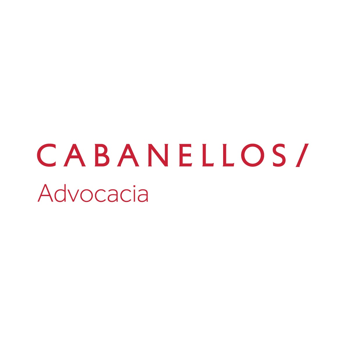 the Cabanellos Advocacia logo.