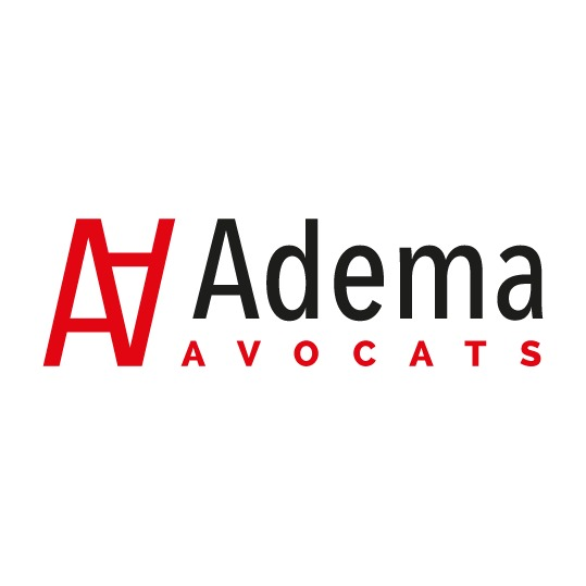 the ADEMA AVOCATS logo.